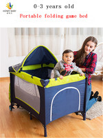 Multifunctional Folding Bed Portable Baby Cradle With Mosquito Net Baby Shaker
