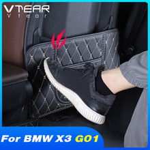 Vtear Seat Anti kick Mat Interior Anti dirty Protection Pad Car Styling Accessories Seat Back Cover For BMW X3 G01 2018 2021