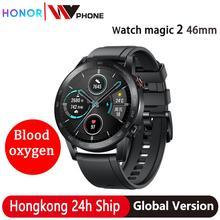 Global Versie Honor Magic Horloge 2 Magic 2 Smart Horloge Bloed Zuurstof Hartslag Tracker Voor Android Ios