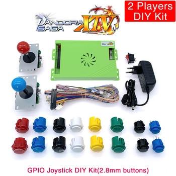 4200 in 1 Pandora Saga 12 DIY Kit Game Board 8 Way Joystick & Copy Sanwa Style Push Button Arcade Pandora Box for 2 Playes DX inside pandora s box
