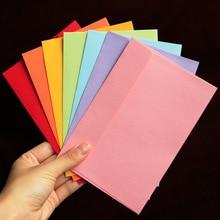 Envelope Paper Letter Kraft Stationary Gift Message-Card Blank Candy 16cmx10.8cm 10pcs/Pack