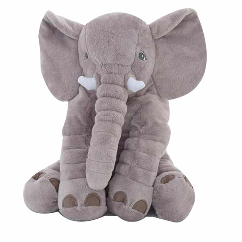 Hot 1pc 40/60cm Zuigeling Pluche Olifant Zachte Sussen Olifant Playmate Kalm Pop Baby Speelgoed Olifant Kussen pluche Speelgoed Gevulde Pop