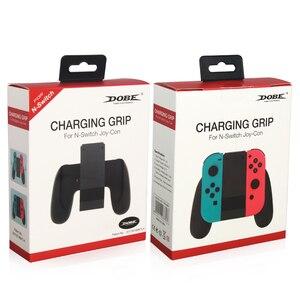 Image 5 - 닌텐도 스위치 ns n 스위치 조이 콘 컨트롤러에 대한 새로운 충전 핸드 그립 게임 패드 스탠드 홀더