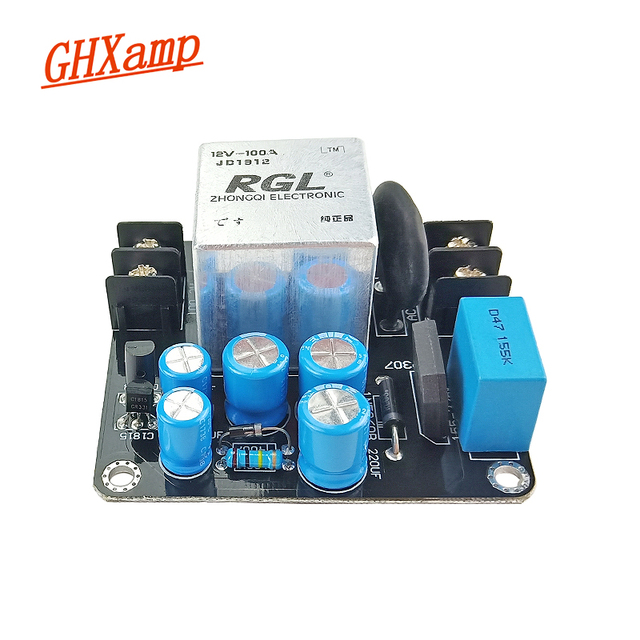 GHXAMP AMP 전원 공급 장치 소프트 스타트 보드 클래스 A 1969 오디오 증폭기 용 고전력 100A 고전류 릴레이 1500W 1PC
