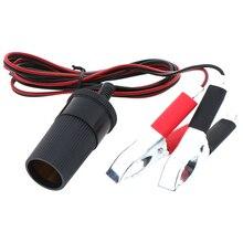 Adapter Batery-Line Cigarette-Light Power-Socket 12V Car Clip-On 150cm Emergency