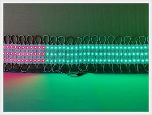 Image 5 - LED module for sign letter full color LED light module SMD 5050 RGB DC12V 3led 0.72W WS 2811 UCS1903 SM16703 compatible