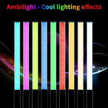 Dimmable Handheld LED Video Light 3200K 5600K RGB ICE Stick Photography Light Stick(China)