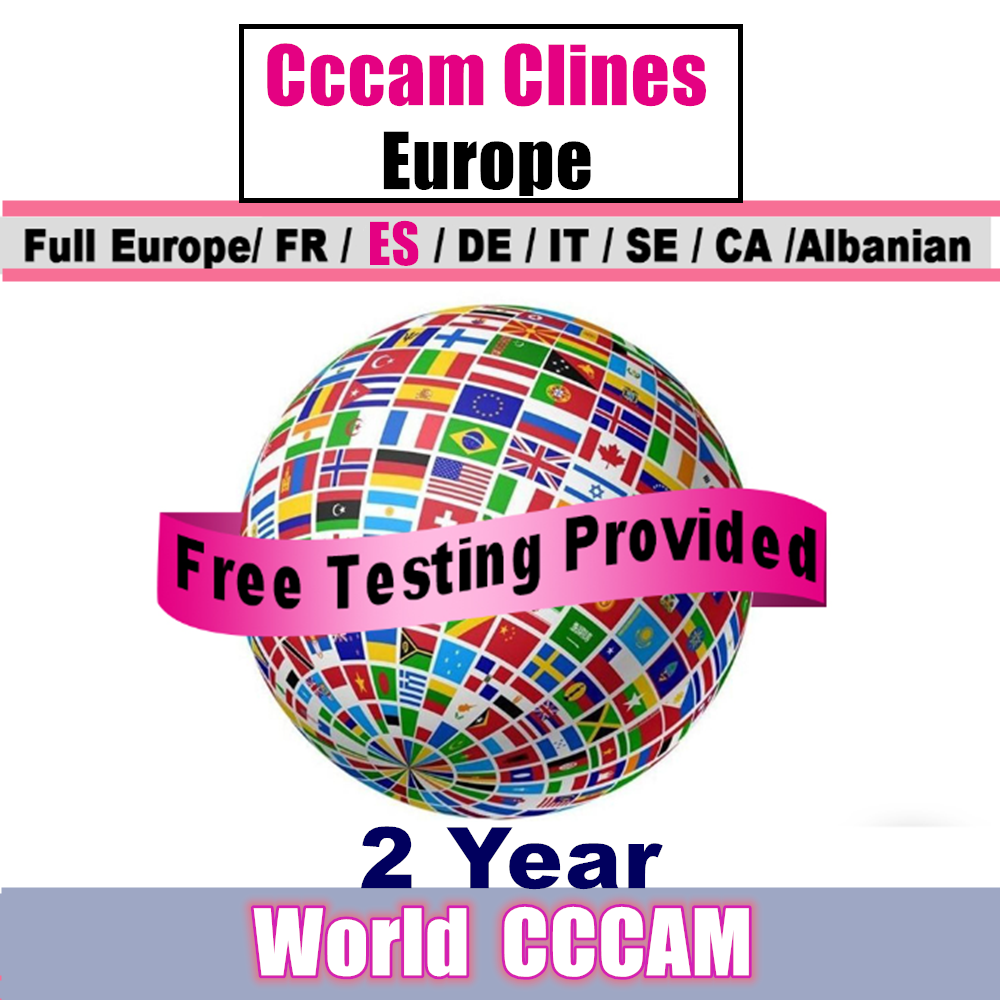Best Stable Cccam ESPA A 7 Clines For 2 Year Europe CCCAM Spain Ccam Portugal Germany Oscam Cccam Server Receptor Satellite HD
