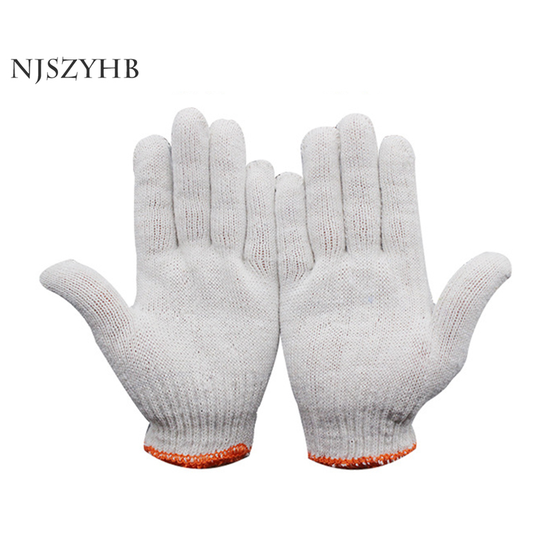Gardening-Gloves Thread Labor-Protection Wear-Resistant Thick Cotton High-Quality