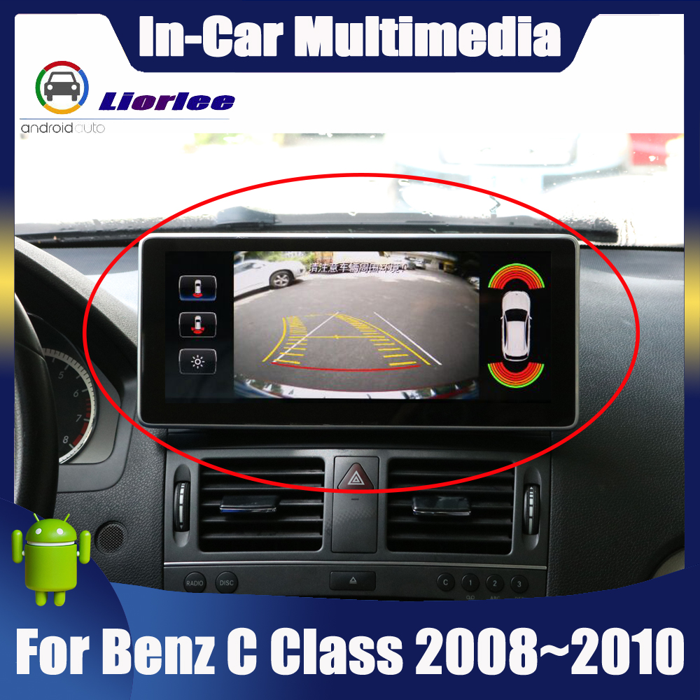 <font><b>Android</b></font> Touch Screen Car Multimedia Player For Mercedes Benz C Class <font><b>W204</b></font> 2008~2010 Stereo Display <font><b>Navigation</b></font> GPS image