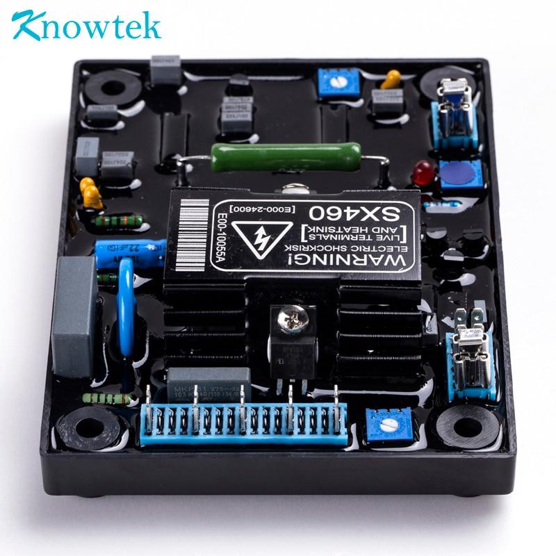 Nitrip SX460-A Repuestos del generador AVR monof/ásico del controlador del regulador de voltaje autom/ático