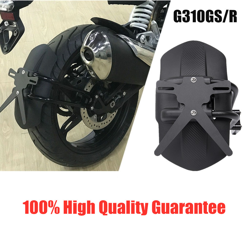 For <font><b>BMW</b></font> G310GS <font><b>G310R</b></font> 2017 2018 2019 2020 Black Rear Fender Mount Mudguard Wheel Hugger Splash Guard Cover Motorcycle Accessories image