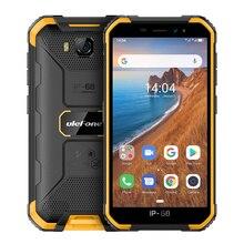 Ulefone ARMOR X6 IP68/IP69K กันน้ำโทรศัพท์ 4000mAh Quad Core 8MP Android 9.0 Face ID ปลดล็อค 2GB 16GB 3G Global Version