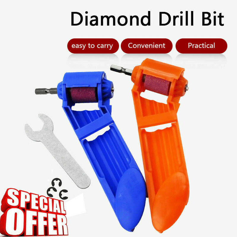 Corundum Grinding Wheel Drill Bit Sharpener Titanium Portable Powered Tools Diamond Diamond