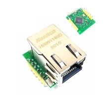 Smart electronics USR-ES1 w5500 chip novo spi para lan/ethernet conversor tcp/ip mod