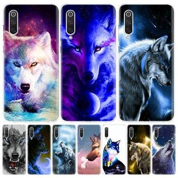 Перейти на Алиэкспресс и купить Чехол для телефона с изображением волка для Xiaomi Redmi Note 9S 8T 8 7 8A 7 7A 6A 4X S2 K20 K30 MI 9 8 CC9 F1 Pro, Модный чехол