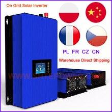 1KW 1000 W Xả Pin MPPT Năng Lượng Mặt Trời Ren Phối Lưới Inverter với Limiter Cảm Biến DC22 65V/45 90 V AC 110 V 120 V 220 V 230 V 240 V