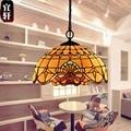 Europäischen Barock Einzigen Kopf Eisen Kronleuchter Lampe Balkon Schlafzimmer Wohnzimmer Warme Vintage Kronleuchter 1609c leuchte suspendu-in Pendelleuchten aus Licht & Beleuchtung bei