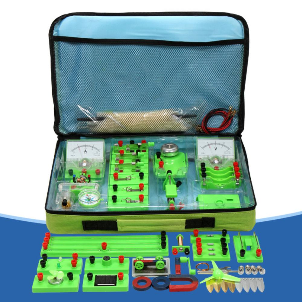 Basic Circuit Electricity Magnetism Learning Kit Physics Aids Kids Toy Cultivate Hands-on Ability Educational Toys For Children