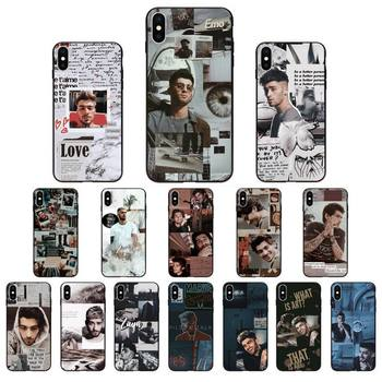 Babaite One Direction Zayn Malik Phone Case for iphone 11 Pro Max X XS MAX 6 6s 7 8 Plus 5 5S 5SE XR SE2020 image