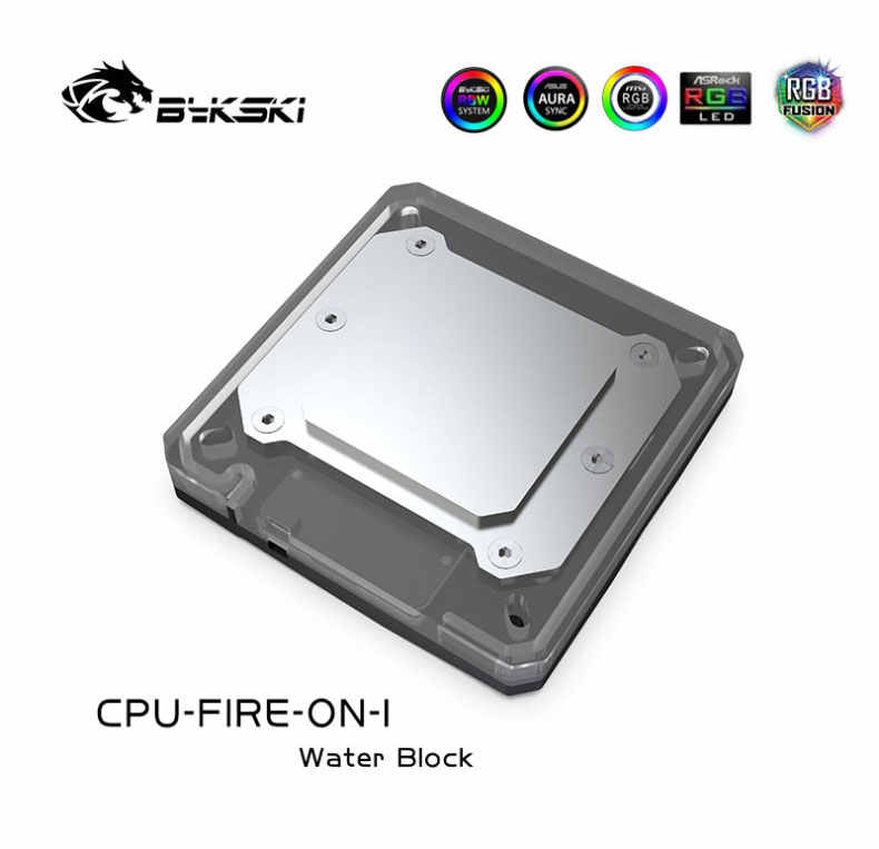 90x95x30mm perfk CPU Refrigerador Resistencia a Alta Temperatura Bloque de Agua para Intel Serie