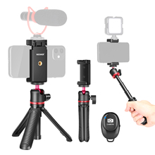 Selfie Stick Tripod-Stand Grip-Pole Smartphone Neewer Rod-Handle Extendable for Mirrorless-Camera/action-Camera