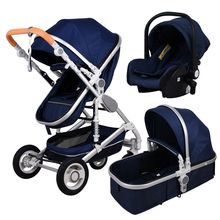 Gold baby stroller popular baby pram 3 i