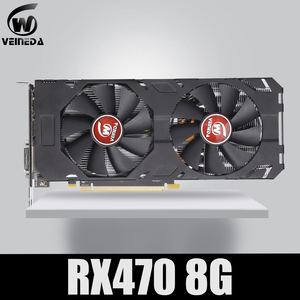 Image 1 - Veineda carte vidéo 100% originale, 8 go GDDR5, 470 bits, DP, DVI, pour AMD, Compatible RX 570