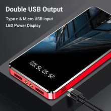 30000 MAh Powerbank Portable Pengisian Powerbank 30000 MAh USB Poverbank External Battery Charger untuk Xiaomi Mi 9 8 iPhone(China)