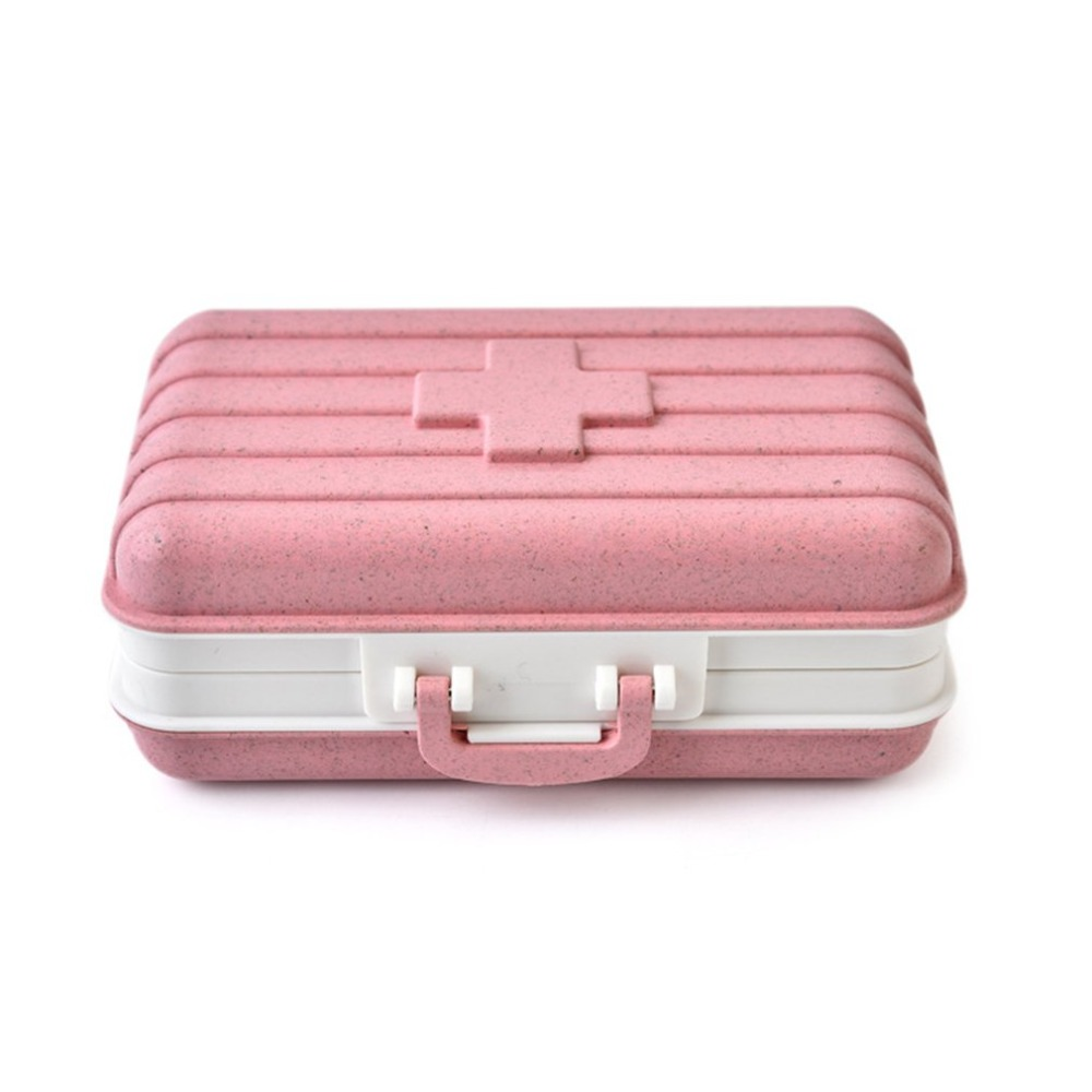 2020 Mini Travel Drug Sub - Medicine Box Home Portable First - Aid Kit Small Admission Bag Medical Package Suitcase 3 Colors Dr