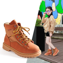 girls boots Childrens Martin Boots For Boys Warm Snow Kids Sneakers boys winter shoes Plush Fashion