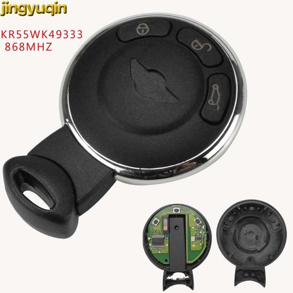 3 Button Smart Remote Key Keyless Entry Fob 868MHz for BMW Mini Cooper 2007-2014