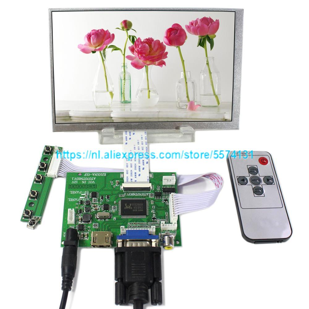 7 inch <font><b>AT070TN83</b></font> <font><b>V</b></font>.<font><b>1</b></font> LCD display + touch screen HDMI monitor driver board Audio Controller VGA 2AV for Raspberry Pi image