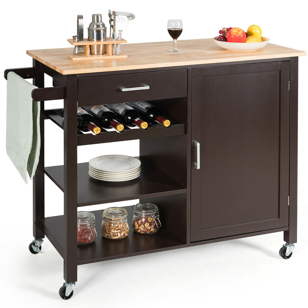 Trolley Cart Storage Cabinet
