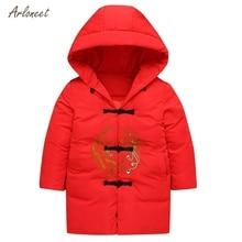 ARLONEET/Детское пальто в китайском стиле плотное пальто для мальчиков и девочек мягкие зимние куртки куртка для девочек осенняя одежда kurtka zimowa dziecieca