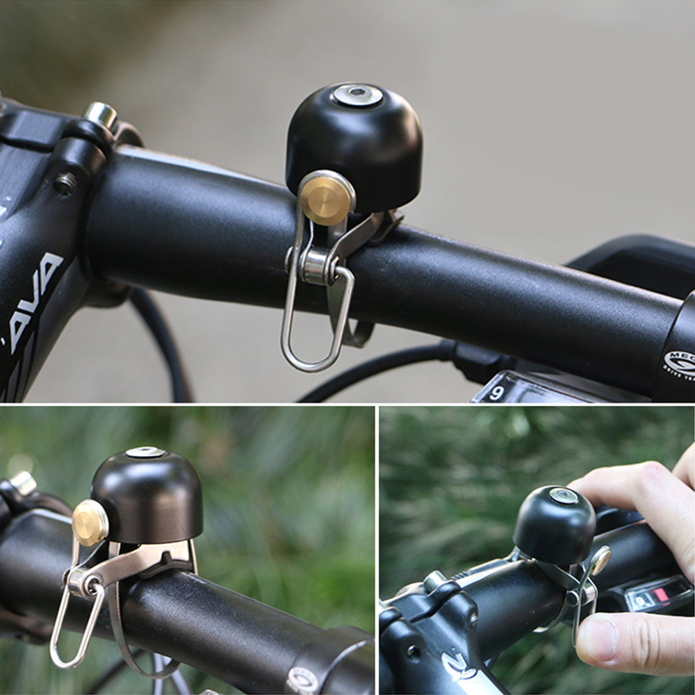 Vintage Cycling Bicycle Bell Safety Copper Sound Handlebar Classical Ring Horn Safety Bike Sport Alarm Bell Bicycle Accessories in Bicycle Bell from Sports Entertainment