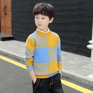 Image 2 - חורף בגדי ילדים ילדים בגדי חורף בגדי כותנה להתחמם בני סוודר בני אפודת בגדים