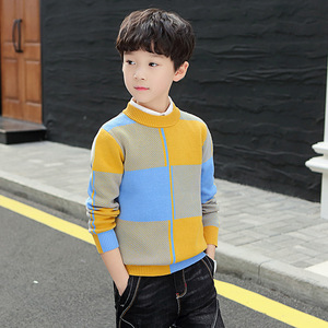 Image 2 - winter childrens clothing   Kids clothes  Winter clothes Cotton Keep warm Boys sweater pullover Sweater Boys clothing