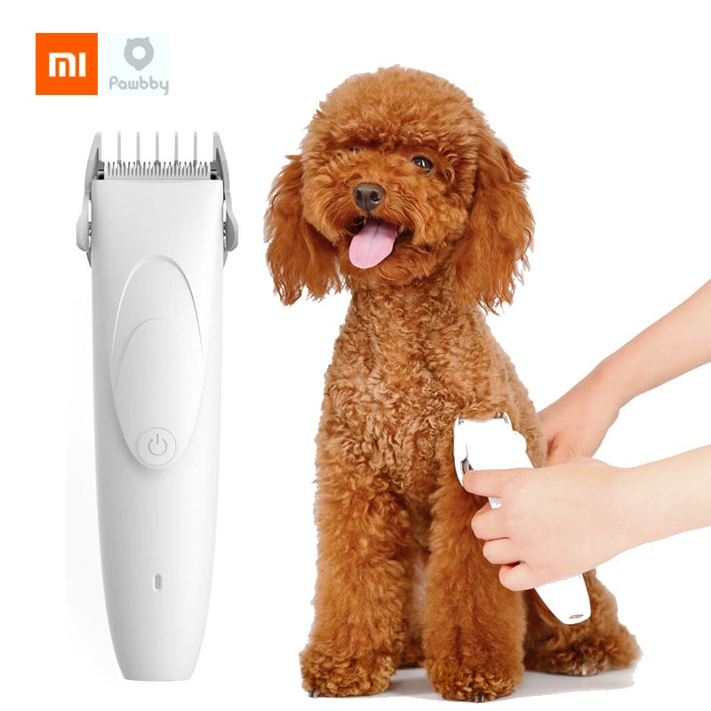 Xiaomi Mijia Pawbby Pet Shaver 2000mAh Removable Wash Safe Dog Cat Trimmer Grooming Low Vibration Low Noise Pet Supplies