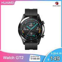 In Stock Global Version HUAWEI Watch GT 2 GT2 GPS 14 Days Working Waterproof Phone Smart Call Heart Rate Tracker For Android iOS