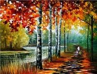 knife oil painting Leonid Afremov artist painting reproduction landscape canvas art handmade painting modern art paintings