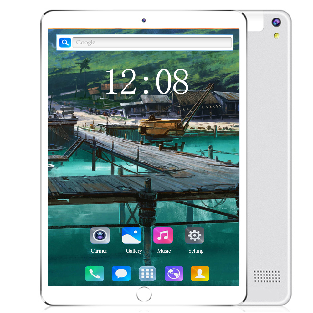 10.1 Inch Android 8.0 Tablet Pc 4G LTE SIM Card Phone Call  6GB/128GB Octa Core Ultra HD Camera 1920*1200 IPS 10 Kids Tablet