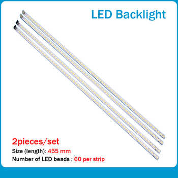 100%-NEW 50 PCS*60LED 455mm 40INCH-L1S-60 LED backlight strip for LTA400HM13 40-DOWN LJ64-03029A - DISCOUNT ITEM  14 OFF Computer & Office