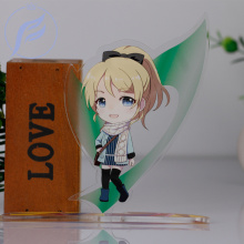 FANGQINGMAO 2 Pcs 7cm Make Acrylic Custom Charm Stand /custom Character Anime Figure Model Display Stand