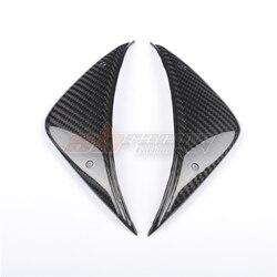 Front Tank Lowe Side Panels 2Cover For MV Agusta F4 RR  1000 2013-2010 Full 100%  Carbon Fiber