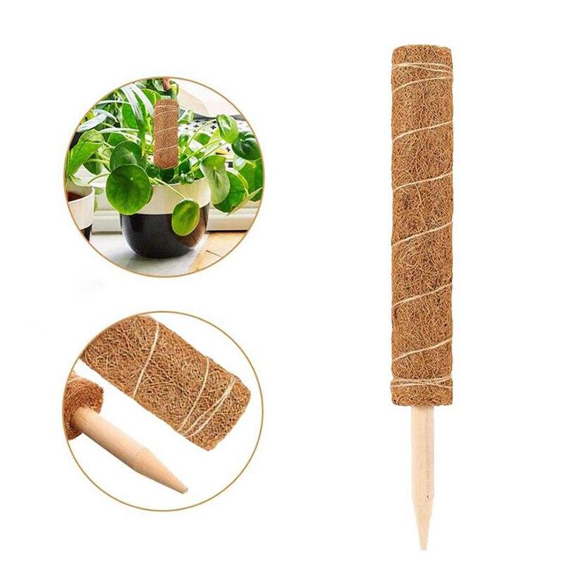30% 2F40% 2F50CM Койр мох Тотем шест палка для лианы растение опора кокос пристройка лазание в помещении сад растения аксессуары