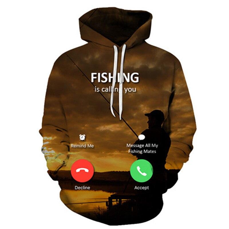 3D Tropical Fish Funny Hoodies For Fishinger Fisherman Men Women Long Sleeve Hoody Sweatshirts Hooded Streetwear Hip Hop Jackets