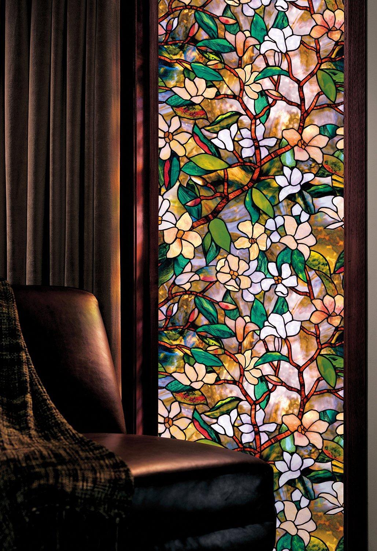 150cm de comprimento estática cling filme de vidro vinil fosco privacidade colorido seixo janela adesivo para janela porta armário mesa superfície