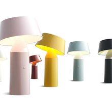 Bola de cristal led de color de vidrio de mesa de luz de cocina candelabros sala de estar dormitorio decoración para el salón