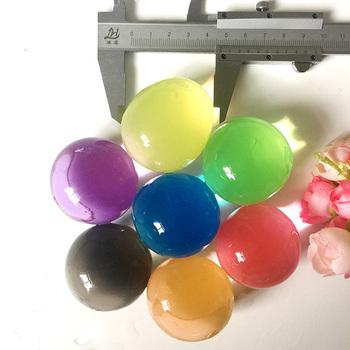 50 sztuk 30-50mm w kształcie perły orbiz kryształ gleby hydrożel koraliki wodne rosną magiczna kulka żelowa roślin kwiat pielęgnować błoto Home Decor tanie i dobre opinie wrxmwds Crystal Soil Big Crystal Soil Mud Water Balls Hydrogel Gel Decoration fertilizer toys 4-10colors Pearl 10-12mm 35-45mm